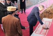 OB Spies nannte den Moscheebau bei der Grundsteinlegung ein Zeichen für Marburg als Heimat.