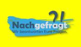 Auf gelbem Hintergrund Nachgefragt mit Frage- und Ausrufezeichen.©Universitätsstadt Marburg