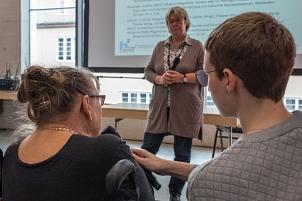Naxina Wienstroer, Fachtag Gleichgeschlechtliche Pflege©Universitätsstadt Marburg