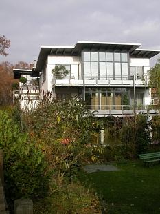 Ein Neubau am Trojedamm,  Foto: R. Kieselbach©Universitätsstadt Marburg - Rainer Kieselbach