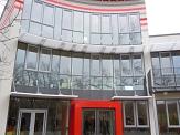 Ansicht des Eingangsbereichs©Neubau Familienzentrum