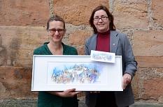 Neue Glückwunschkarten des Magistrats©Nadja Schwarzwäller im Auftrag des FD 13 der Universitätsstadt Marburg