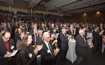 Rund 1400 geladene Gäste waren gekommen, um die erste Neujahrsrede von Oberbürgermeister Dr. Thomas Spies zu hören.