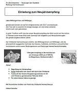 Neujahrsempfang Hermershausen
