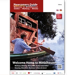 Newcomers Guide - Cover © Universitätsstadt Marburg
