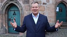 OB Spies begrüßt die Erstis in Marburg