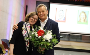 Amtsinhaber Dr. Thomas Spies hat die Oberbürgermeisterwahl in Marburg mit 50,2 Prozent der Stimmen gewonnen.©Patricia Grähling, Stadt Marburg