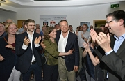 Dr. Thomas Spies hat die Oberbürgermeisterwahl in der Universitätsstadt Marburg am Sonntag mit 60 Prozent der Stimmen gewonnen.