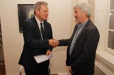 Oberbürgermeister ernennt Achim Zimmermann zum Ortsvorsteher©Krause