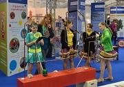 Die Jugendförderung stellt auf der Oberhessenschau ihr Angebot vor und bietet Mitmach-Angebote.