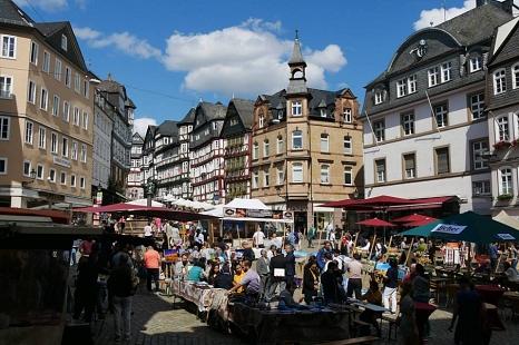 Oberstadtmarkt©Stadtmarketing Marburg