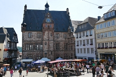 Oberstadtmarkt: Marktgeschehen©Stadtmarketing Marburg e. V.