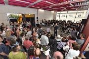 Hast Du Töne: Die Schülerinnen und Schüler der Martin-Luther-Schulen trugen am Samstag mit ihrer Musik gelungen zum ersten Eröffnungstag bei.