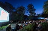 Kurzfilmfestival OpenEyes - open air im g-werk-Innenhof©Café Trauma