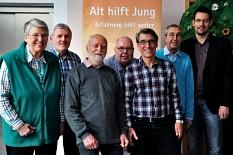 Ein Gruppenfoto des Teams vom Patenschaftsprojekt vom Februar 2017.©Universitätsstadt Marburg