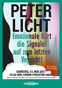 Peter Licht Konzert und Lesung