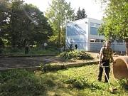 Philippinum, Arbeitseinsatz im Garten