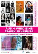 Ausstellung Aus 4 wird eins zum Inernationalen Frauentag 08. März 2021