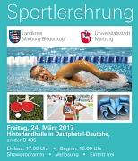 Plakat Sportlerehrung 2017
