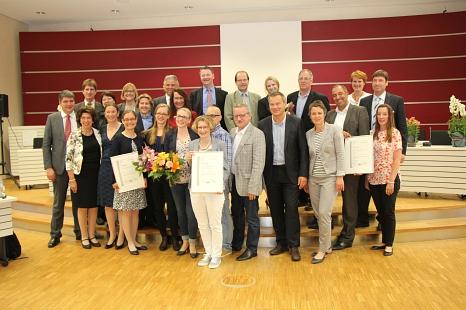 Preis für familienfreundliche Unternehmen 2016©Landkreis Marburg-Biedenkopf