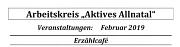 Programm AK Allnatal Februar 2019