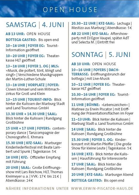 Eröffnung Erwin-Piscator-Haus©Universitätsstadt Marburg