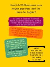 Herzlich Willkommen zum neuen queeren Treff im Haus der Jugend! Hier kannst du mit anderen ins Gespräch kommen, relaxen oder eine Runde Billard spielen. Ein Team begleitet den queeren Treff. Der queere Treff ist kostenlos.©Universitätsstadt Marburg