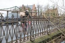 Radverkehr auf der Weidenhäuser Brücke