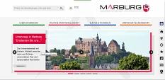 Die Universitätsstadt Marburg präsentiert sich bürgernah, benutzerfreundlich und zukunftsfähig mit ihrer neuen Webseite.©Universitätsstadt Marburg