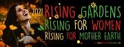 Motto von One Billion Rising 2021: Rising gardens