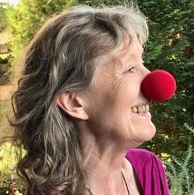 Sabine Neuhaus als Clownin
