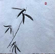 Sabine Neuhaus, sumi-e, japanische Tuschmalerei