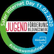 Der Titel und das Datum 11.02.2020 und das Logo von Jugendförderung und Jugendbildungswerk.