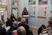 Stadträtin Dr. Kerstin Weinbach eröffnete die Ausstellung.