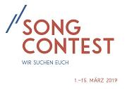 Schriftzug Song Contest