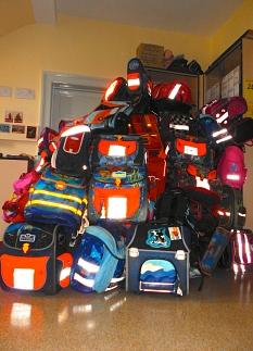 Das KiJuPa sammelt wieder Schulranzen für Kinder in Marburgs rumänischer Partnerstadt Sibiu.©Universitätsstadt Marburg