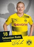 Fußballprofi Sebastian Rode kommt zum Nachtsport nach Marburg