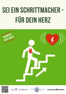 Sei ein Schrittmacher für dein Herz©Universitätsstadt Marburg