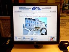 Startbildschirm des Selbstverbuchers©Universitätsstadt Marburg