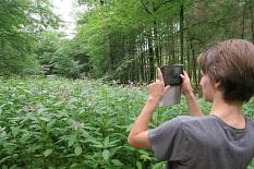 Den Lern- und Erlebnispfad bietet das Jugendbildungswerk der Stadt Marburg in Kooperation mit dem SENSO-Trail-Team der Philipps-Universität Marburg an.©Philipps-Universität Marburg