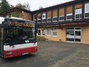 Der Shuttlebus zum Portal Gisselberg fährt jetzt seltener und mit neuer Route.