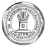 Siegel und Logo Marburger Konzertverein © Marburger Konzertverein