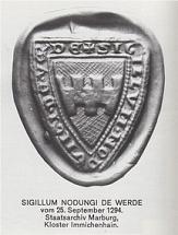 Siegel Wehrda von 1294©Wehrda