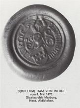 Siegel Wehrda von 1470©Wehrda