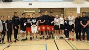 Siegerehrung 2. Marburger Basketball Mitternachtsturnier