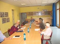 Sitzung aktives Allnatal mit Gemeindeschwester und Conni Debus©Bernd Weimer