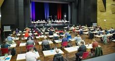 Sitzung Stadtverordnetenversammlung©Patricia Grähling, Stadt Marburg