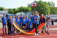 """Erstmals nehmen auch Kinder und Jugendliche aus Marburgs Partnerstadt Eisenach am """"Six Nations Camp"""" teil.©Simone Schwalm, Stadt Marburg"""