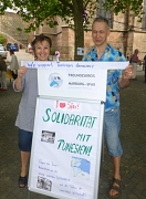 Solidaritätsaktion Freundeskreis Marburg-Sfax