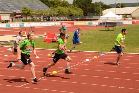 Bei den zweiten Hessenspielen von Special Olympics gibt es wieder Leichtathletik zu sehen.©Stadt Marburg, Tina Eppler